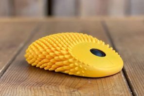 I'm not sure what to make of this tactile, textured mouse, but I really want one!