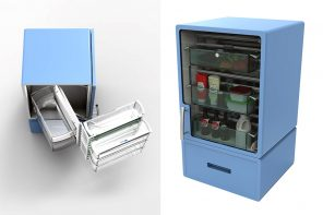 This Modular Refrigerator uses an innovative shelving system to tackle food wastage