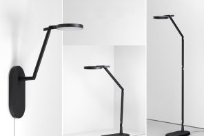 This Award-Winning Magnetic Modular Lamp System Can Turn Into Three Different Lighting Designs!