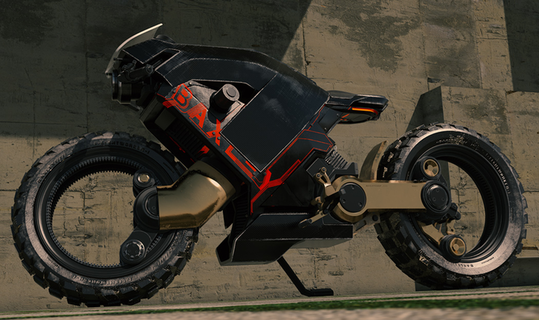 This hubless solo-rider e-motorbike is here to unleash your inner daredevil!