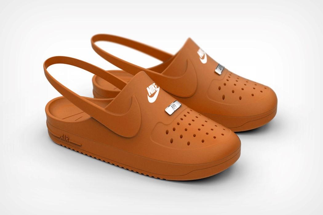 This Nike X Crocs collaborative concept
