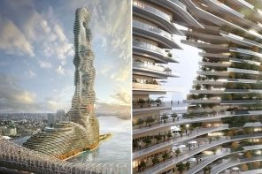 This sky-high tower is actually a liveable carbon sink designed for future sustainable cities!