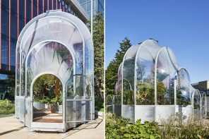 This tiny greenhouse's controlled microclimate shows why warming of even one degree is a big deal