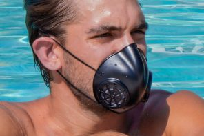 This washable face mask with a patented micro-etched filter can be reused over and over again