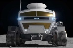 Toyota's Lunar Lander design for JAXA shares the Land Cruiser's motto of coming back alive!