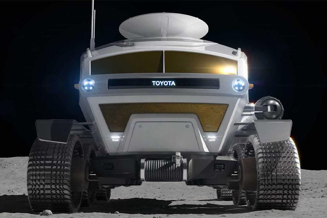 Toyota's Lunar Lander design for JAXA shares the Land Cruiser's motto of coming back alive!