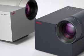 What if Netflix made a 4K projector and a Bluetooth sound-system to match?
