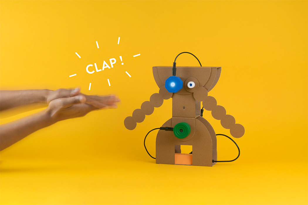 Cardboard pieces come to life with this DIY Robotic kit for kids in collaboration with OPPO