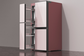 A kid-friendly refrigerator to keep all the members of the house happy with great food!