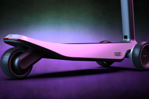 This Audi-inspired electric scooter is designed to redefine sleek and safe commuting