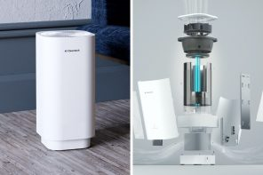 Most air purifiers just trap germs… the Clean-tech UV-C air purifier kills them too