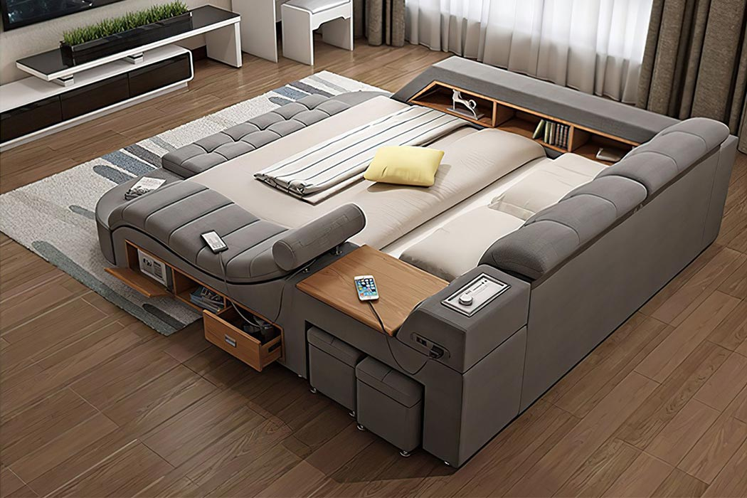 Ikea Meets Tesla In These Tech Enhanced, Interior Design Ikea Furniture