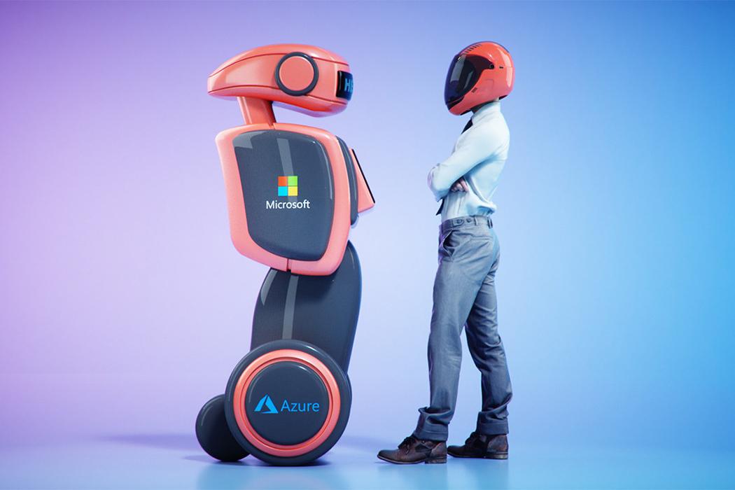 Microsoft's Azure cloud platform will be the brain for their future autonomous robots!