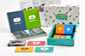This children's board game helps develop their creative storytelling skills!