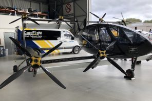 This eVTOL ambulance designed to airlift critical patients will commence in Australia in 2023!