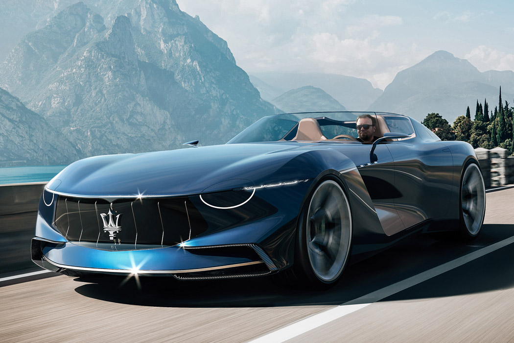 This Maserati's roofless design is a stunningly muscular concept that makes the MC20 seem ordinary!