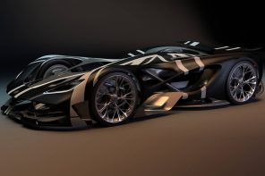 This Spiderman worthy Lotus supercar is inspired by the bone structure found in nature!