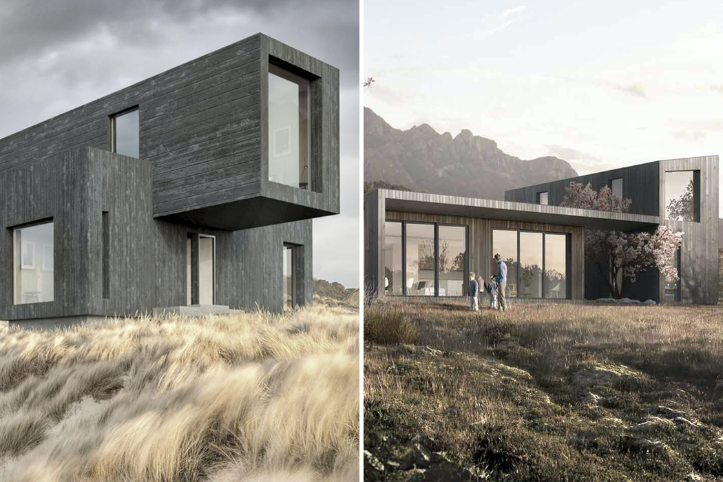 Modular architectural design that brings a healthy mix of Scandinavian design and sustainability to your home!