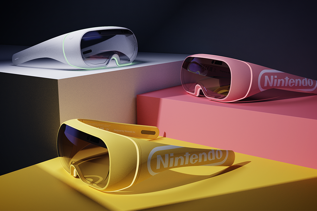 A sleek Nintendo interactive headset + more VR designs that prove this tech trend is here to stay!