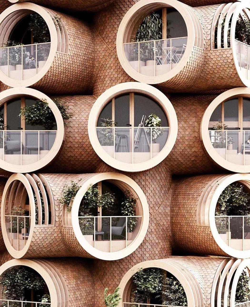 Архитектурные проекты, ориентированные как на человека, так и на природу: Часть 5