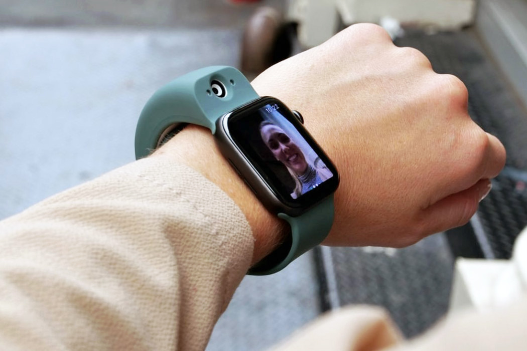 This Apple Watch band with two onboard cameras means your wrist now shoots photos/videos in 4K!