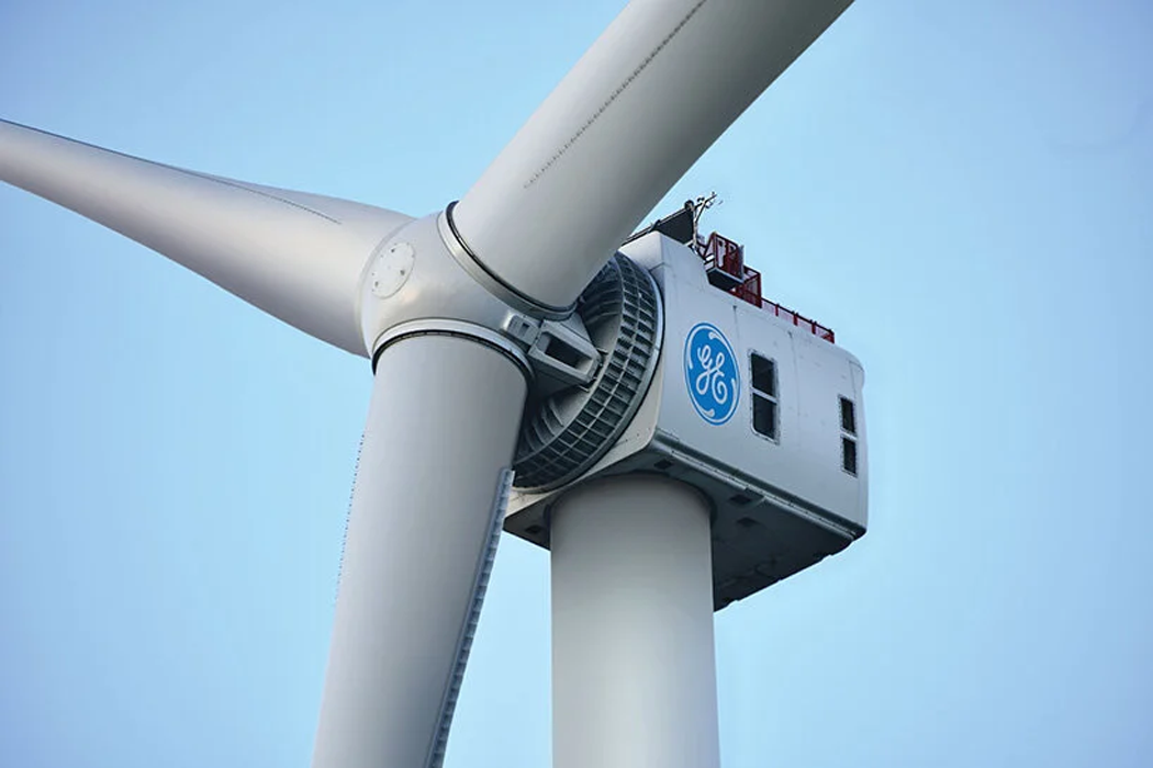 GE's newest renewable energy project is a giant turbine that powers a home for two days with just one turn!