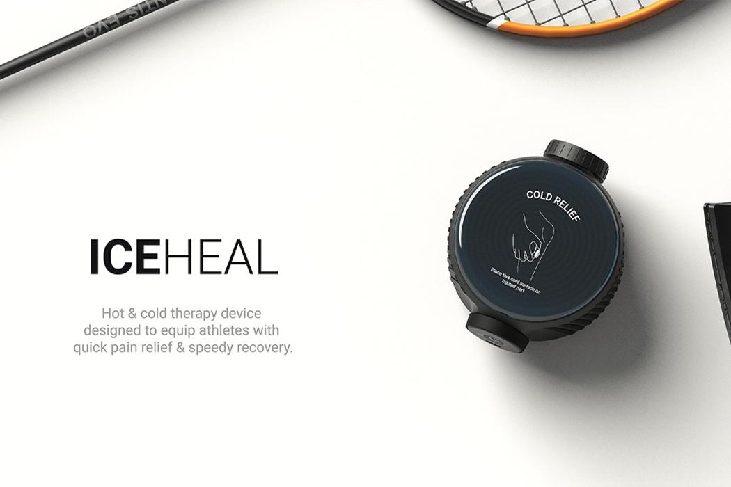 Это портативное физиотерапевтическое устройство обеспечивает облегчение как жары, так и холода для снятия боли на ходу!