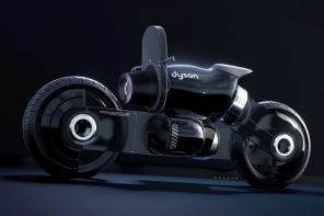 Here's a Dyson motorcycle concept that doesn't 'suck'!