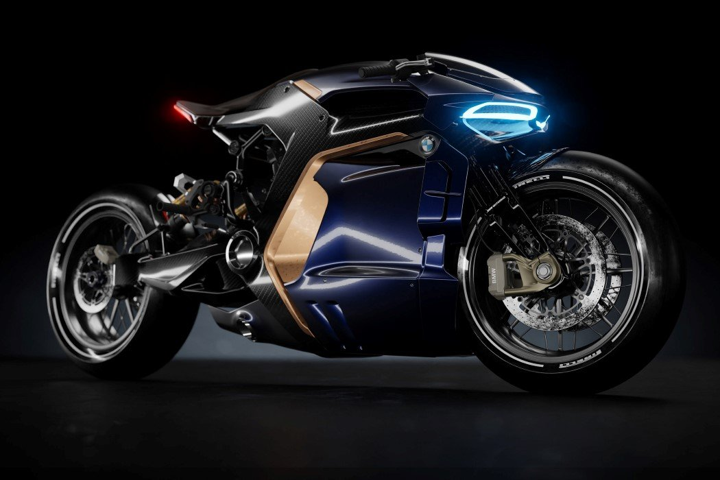 Feast Your Eyes On This Bmw Cafe Racer From The Future Yanko Design
