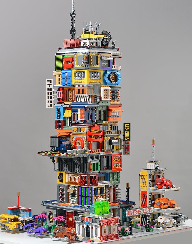 Творения мастеров-строителей LEGO, демонстрирующие, почему LEGO - не просто детская игрушка: Часть 6