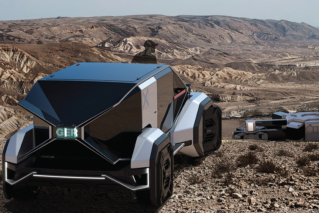 Jeep should give this edgy, futuristic EV for digital nomads some serious thought
