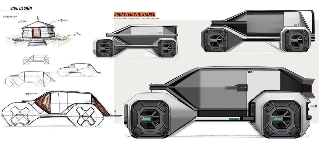 Jeep стоит серьезно подумать об этом футуристическом электромобиле для цифровых кочевников
