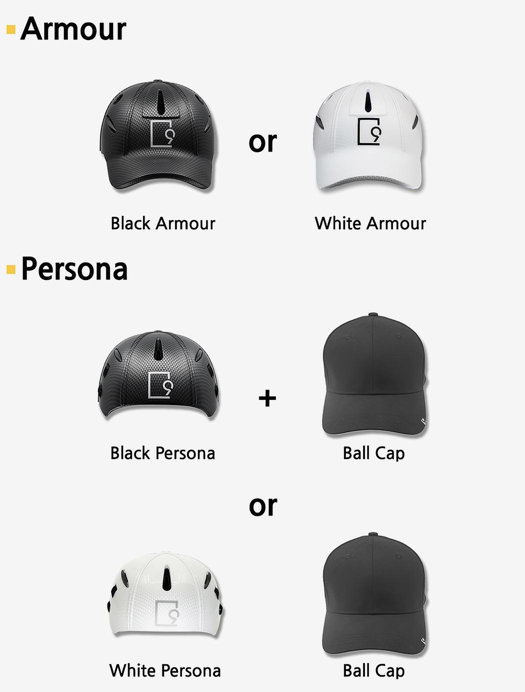Встречайте единственный в мире шлем, который можно носить поверх кепки…