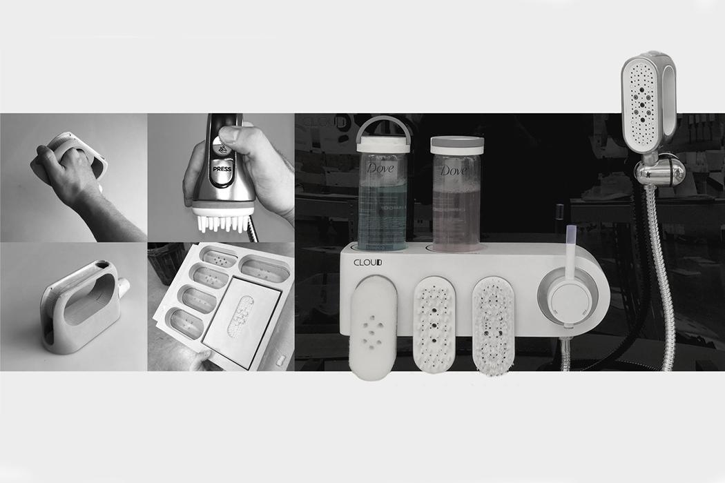 Эта эргономичная душевая система использует модульность, чтобы помочь медицинским работникам оказывать помощь без помощи рук!