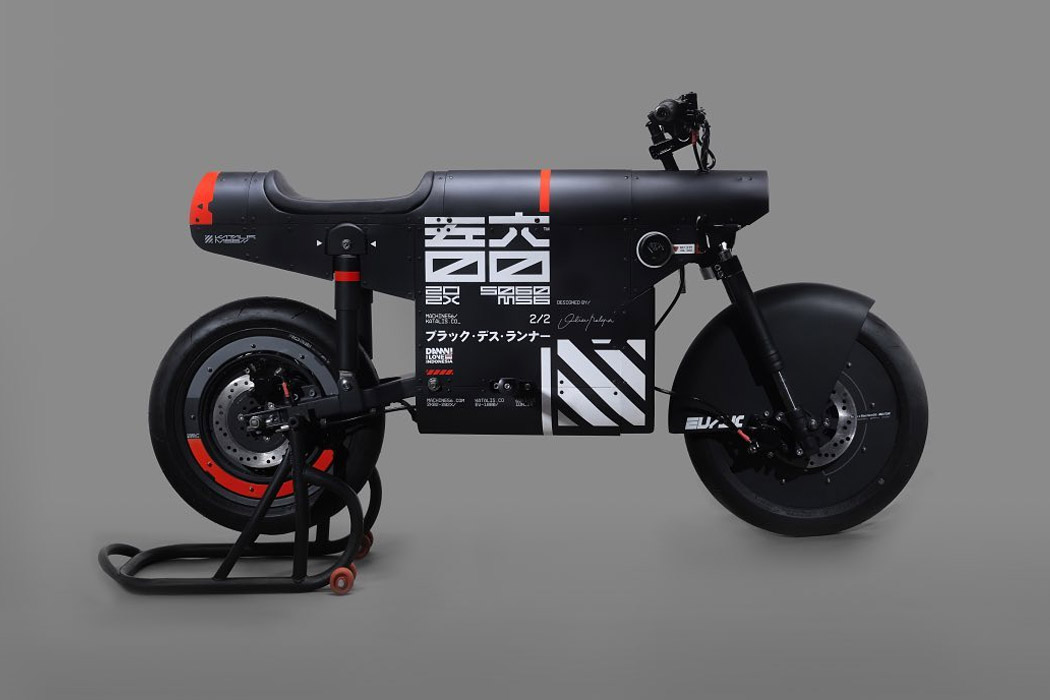 This Japanese influenced e-bike perfectly pays homage to the past and the future!