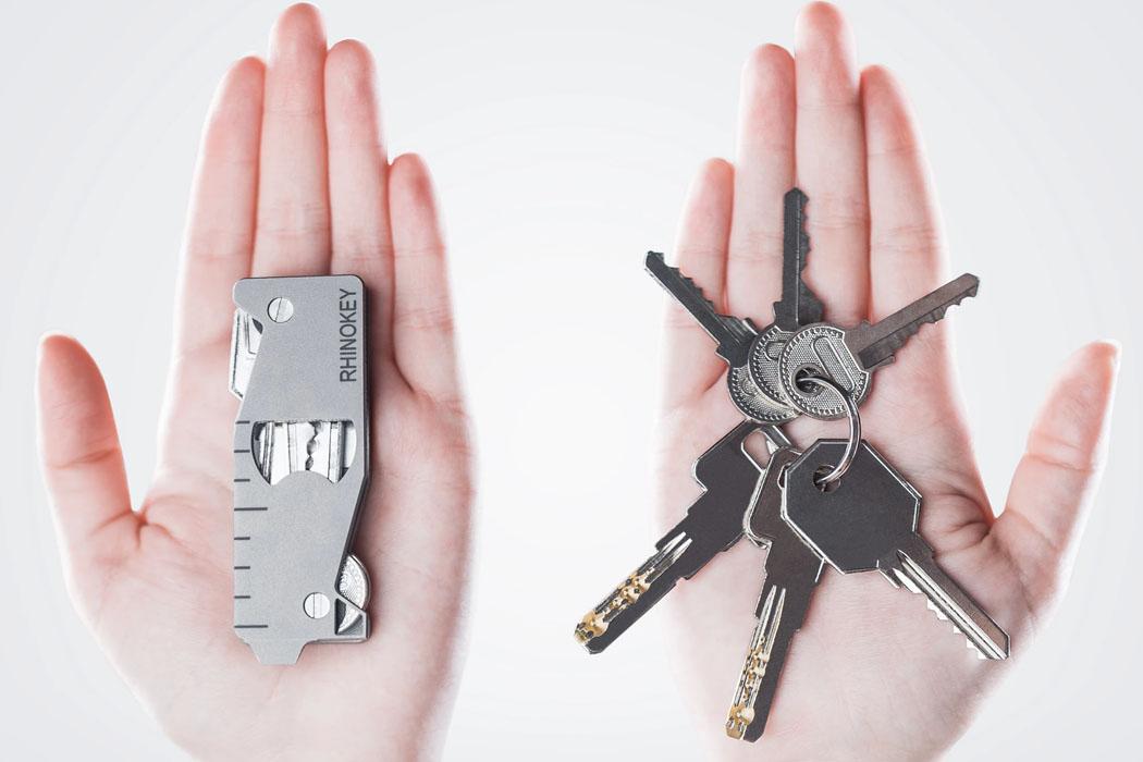 Этот титановый органайзер для ключей EDC + светодиод заставит вас отказаться от надежного брелка!