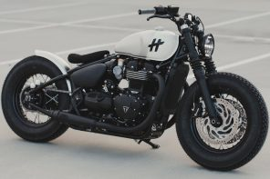 Triumph Bonneville Bobber gets a modern customization to be the badass sidekick you need!