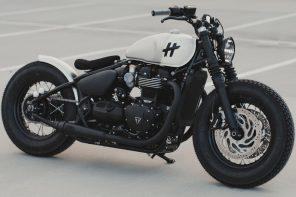 Triumph Bonneville Bobber gets a modern customization to be the badass sidekick you need!