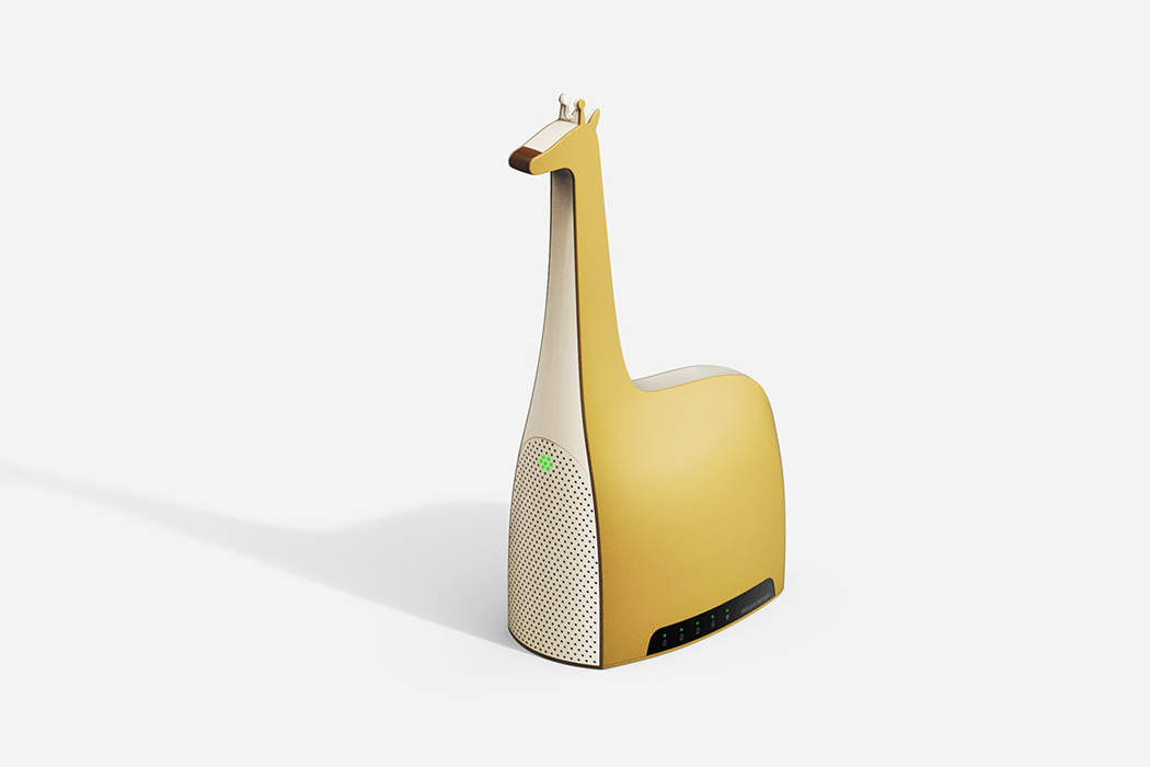 These animal shaped IoT home appliances bring some light to our Corona-blues!