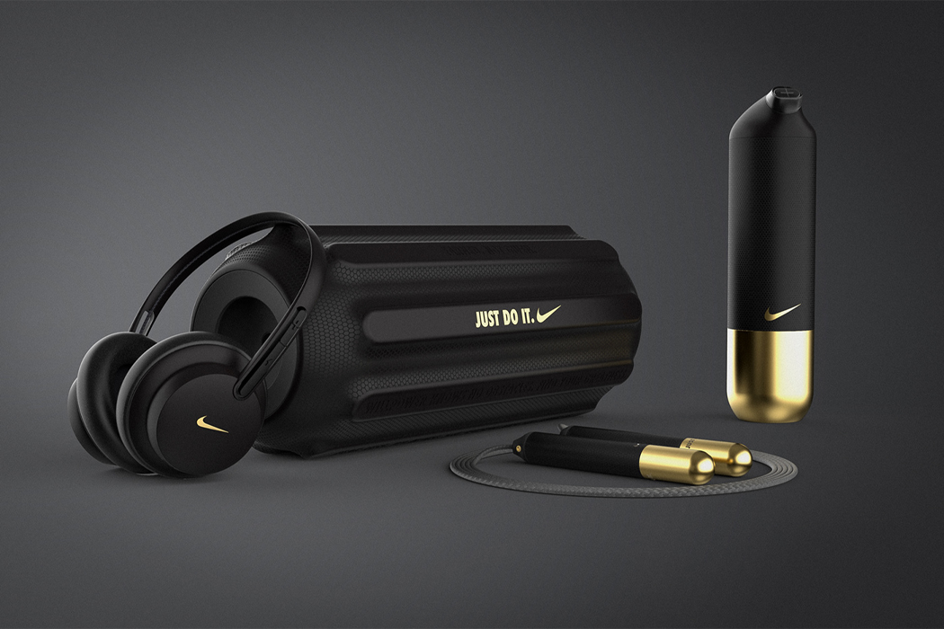 This Nike-inspired integrated smart fitness system gives at-home gym workouts the boost it needs!