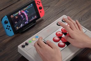 8BitDo Arcade stick customizable gamepad for gamers who enjoy fighting it out in retro style