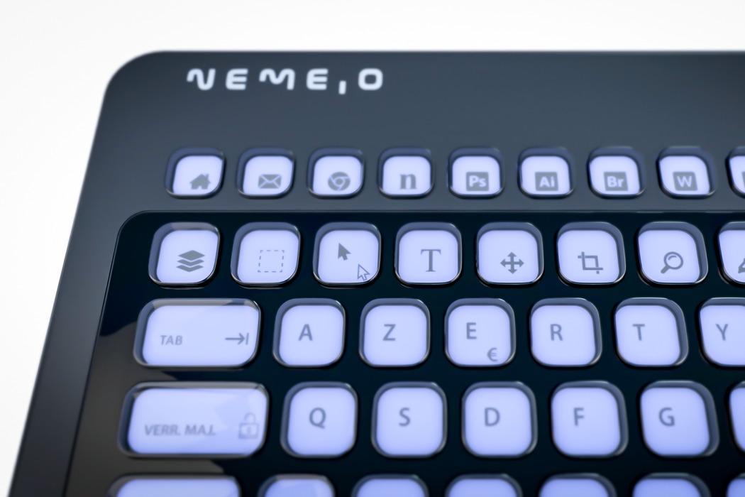 Бесконечно настраиваемая клавиатура поставляется с клавишами e-ink, что позволяет создавать собственную раскладку и сочетания клавиш!