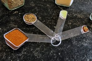 Incredibly clever measuring spoons are shaped to help you easily visualize their quantities