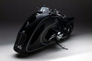 "BMW Motorrad's ""Spirit of Passion"" custom motorcycle is an Art-Deco masterpiece!"