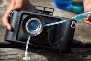 Instagram Filters get applied in real life with this liquid-filled camera lens