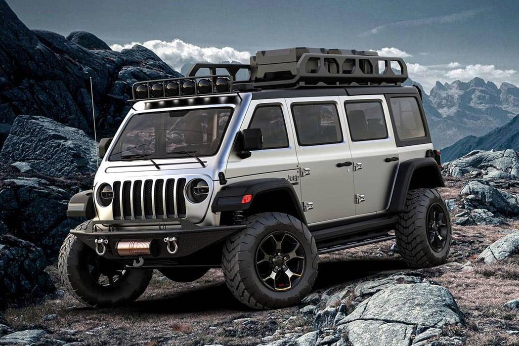 Ex-Lamborghini designer designs a Jeep Vangler-inspired Overlanding van tailored for extreme jungle safaris!