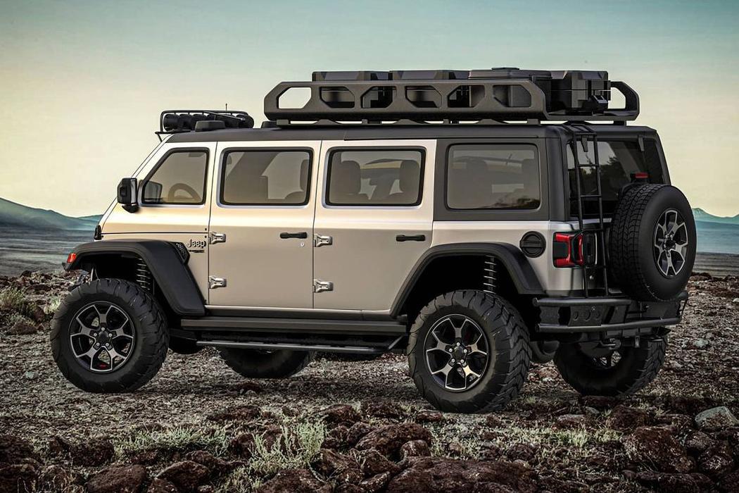 Экс-дизайнер Lamborghini создает фургон Overlanding в стиле Jeep Vangler, специально предназначенный для экстремальных сафари в джунглях!
