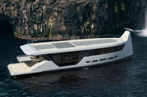 This smartphone controlled superyacht is the Tesla of oceans