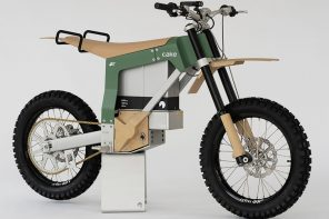 CAKE's solar-powered dirt bike is designed for stealth anti-poaching missions in the African wilderness