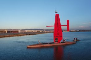World's largest unmanned aquatic vessel sets sail to explore depths of underwater mysteries